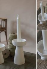 Storefactory  Kerzenständer Talbo weiß S