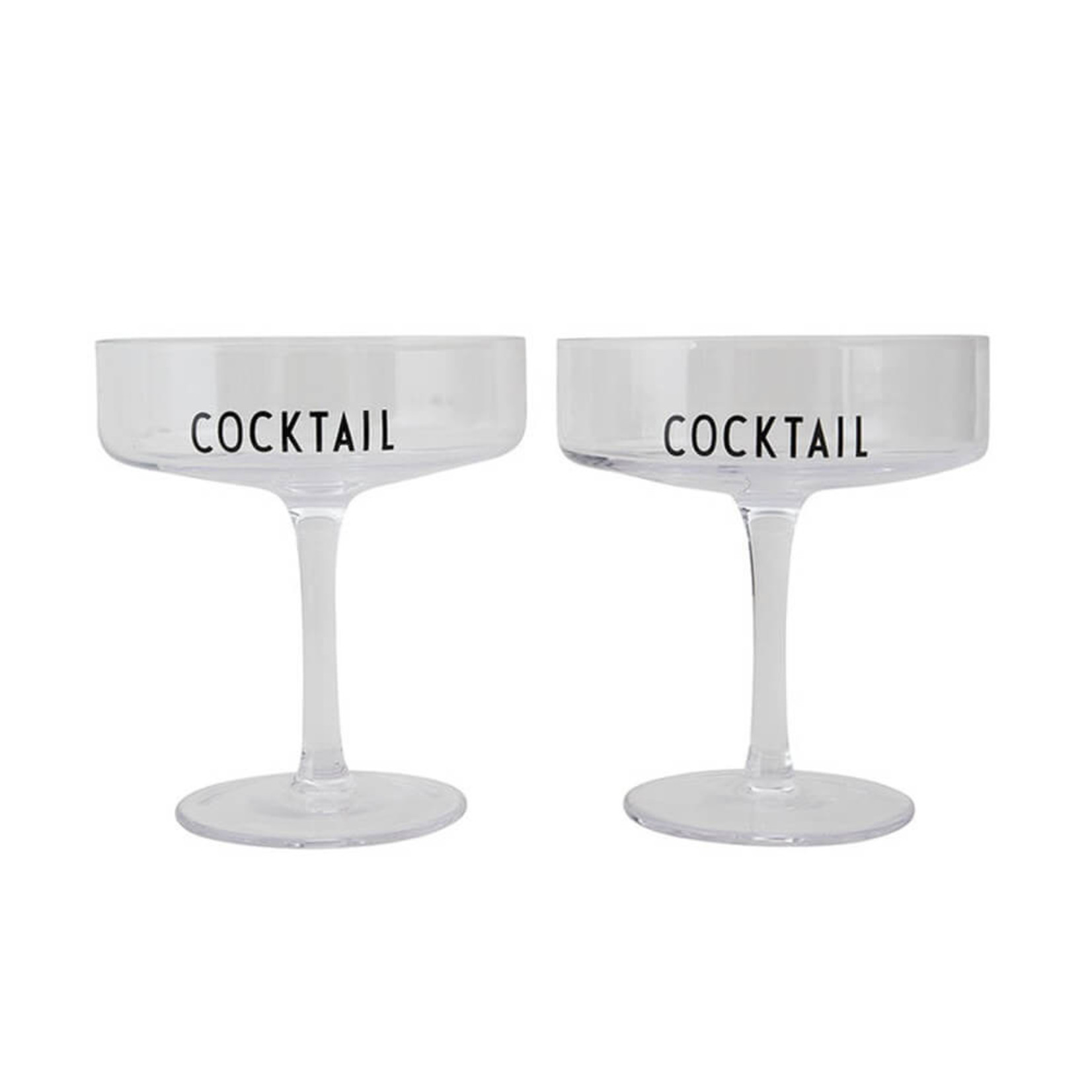 Design Letters Cocktail Glass
