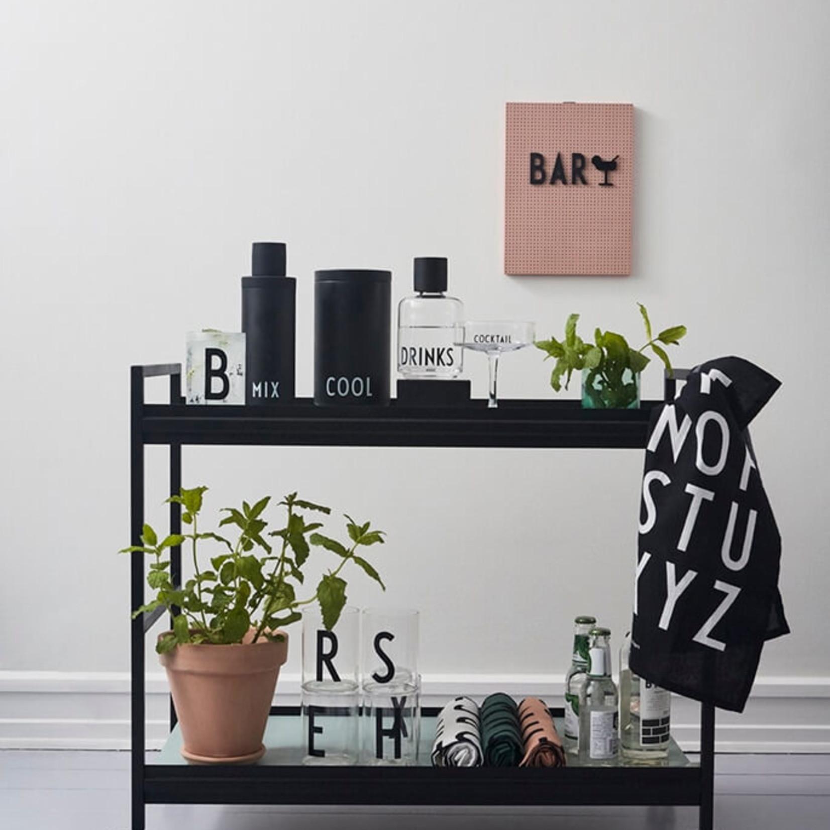 Design Letters Flaschenkühler und Eiskübel