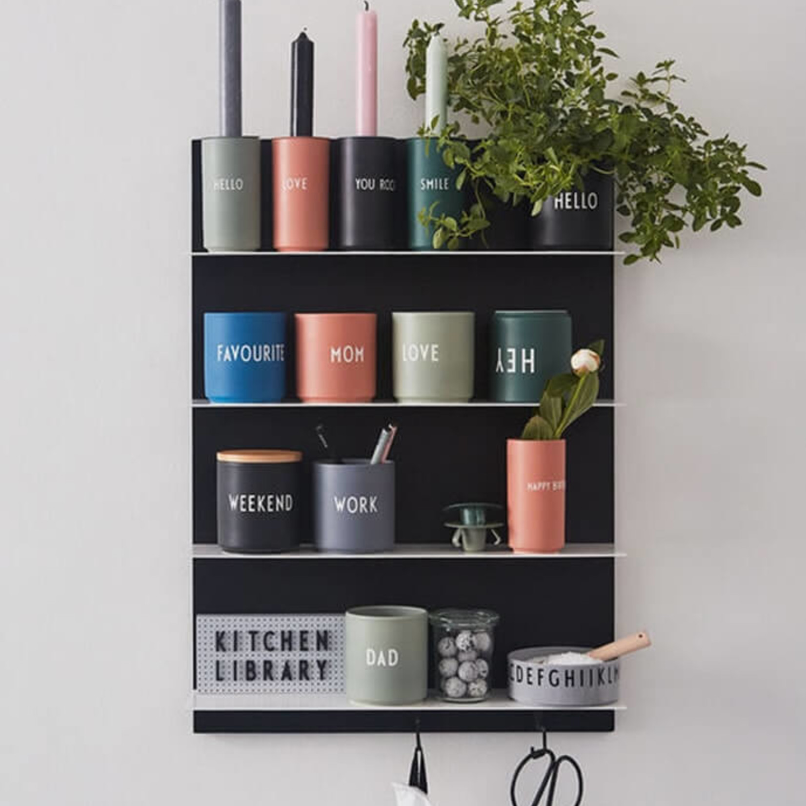 Design Letters Vase YOU ROCK