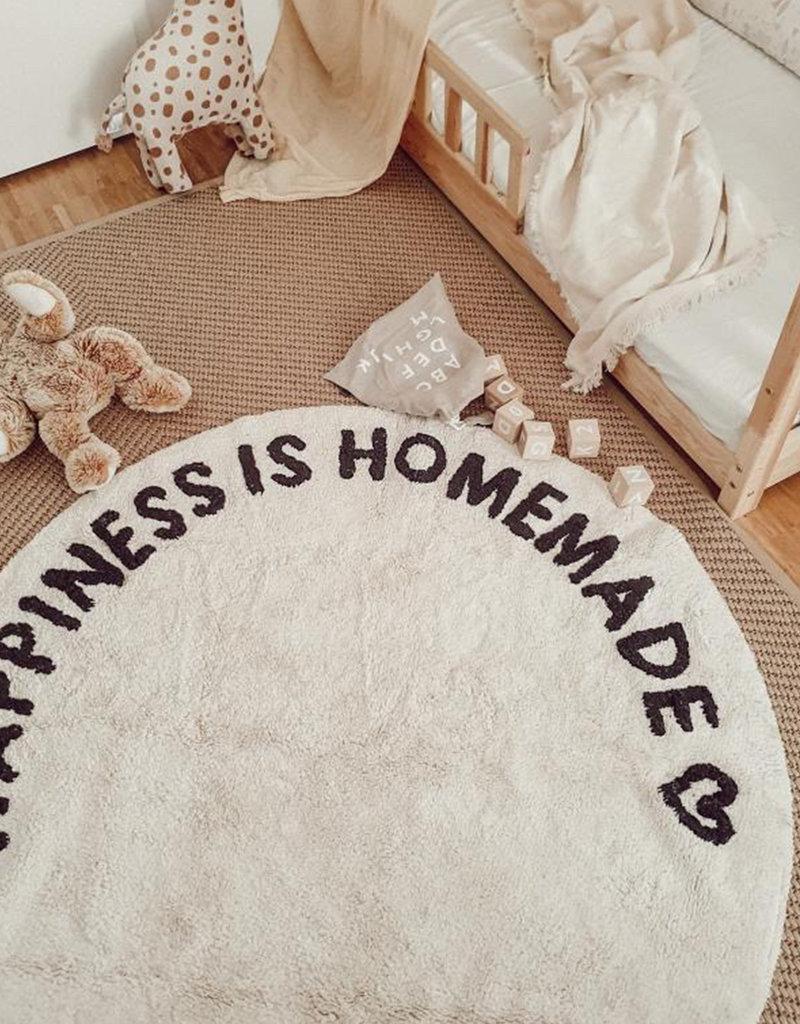 Eulenschnitt Runder Teppich Happiness