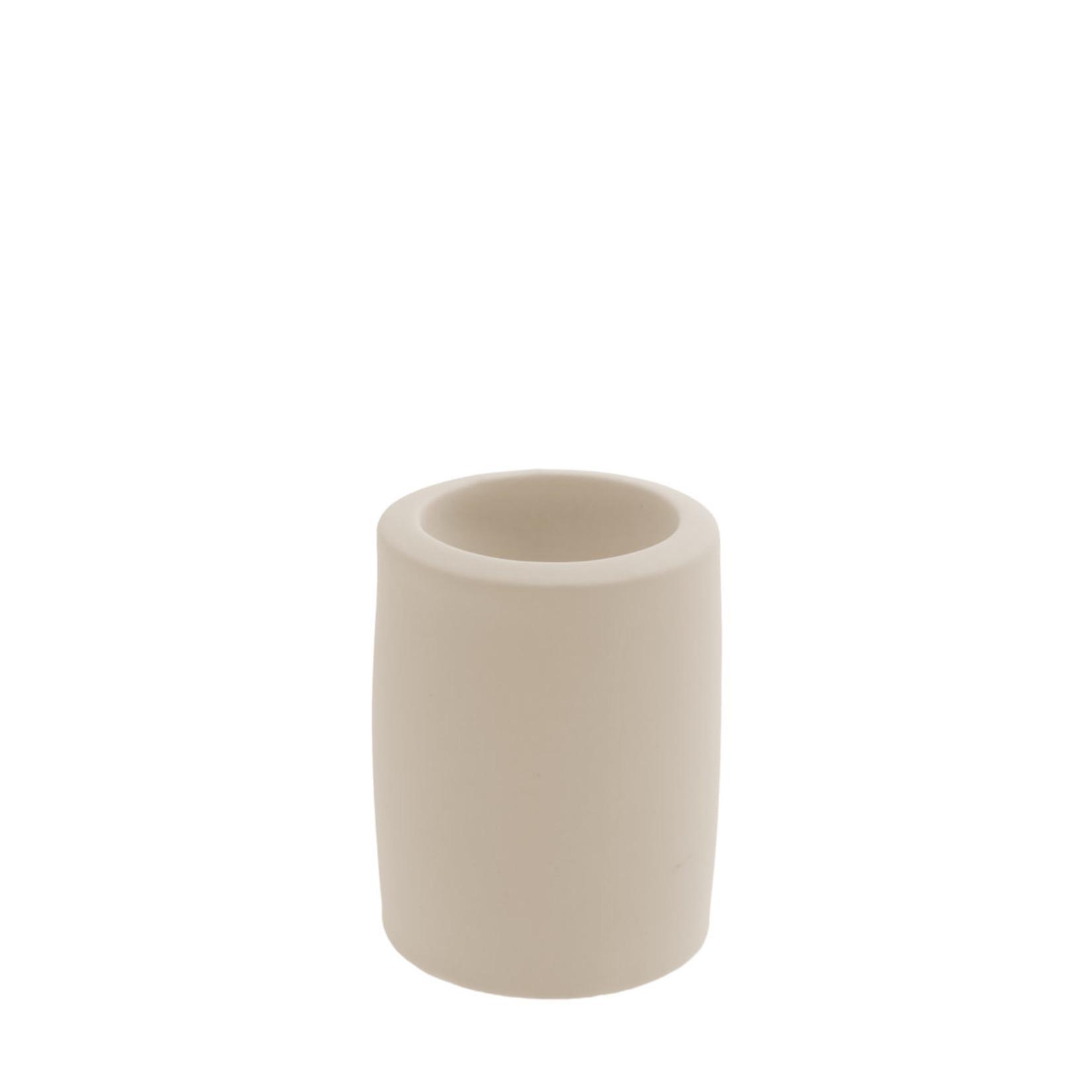 Storefactory  Lekvall Teelichthalter beige M