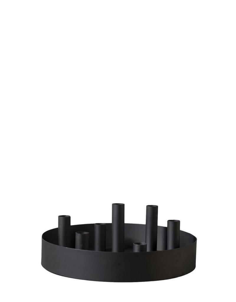 Storefactory  Kerzenständer Sund schwarz