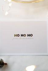 Postkarte HOHOHO