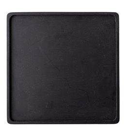 Bloomingville  Tablett Akazie schwarz