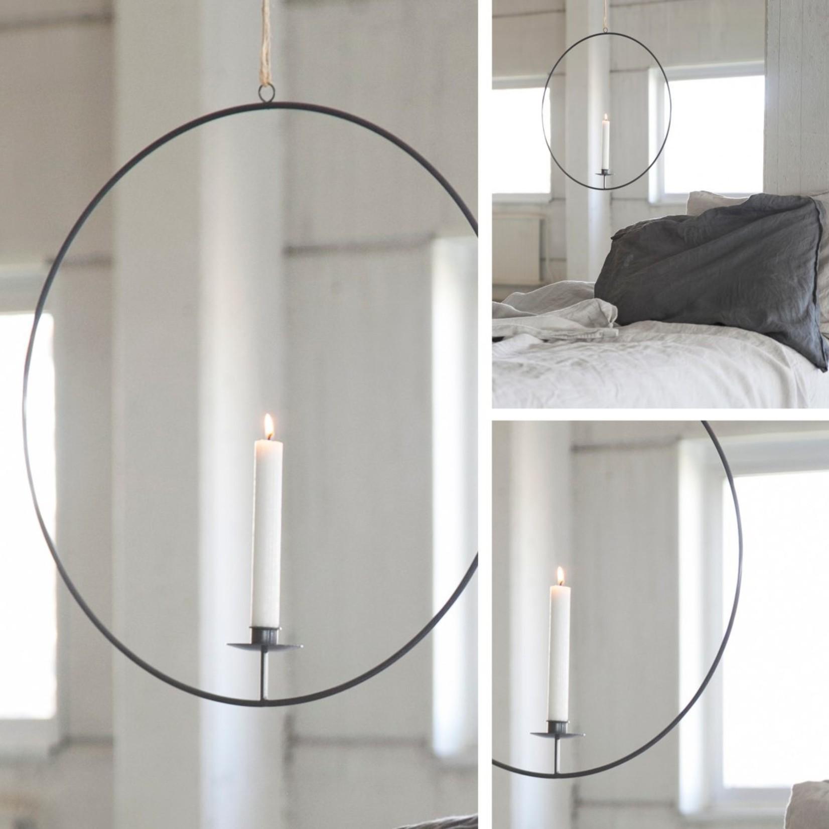 Storefactory  Gullabo Kerzenständer zum Aufhängen grau