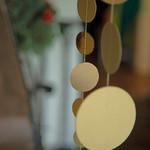 Räder Design Goldregen Papierkette groß