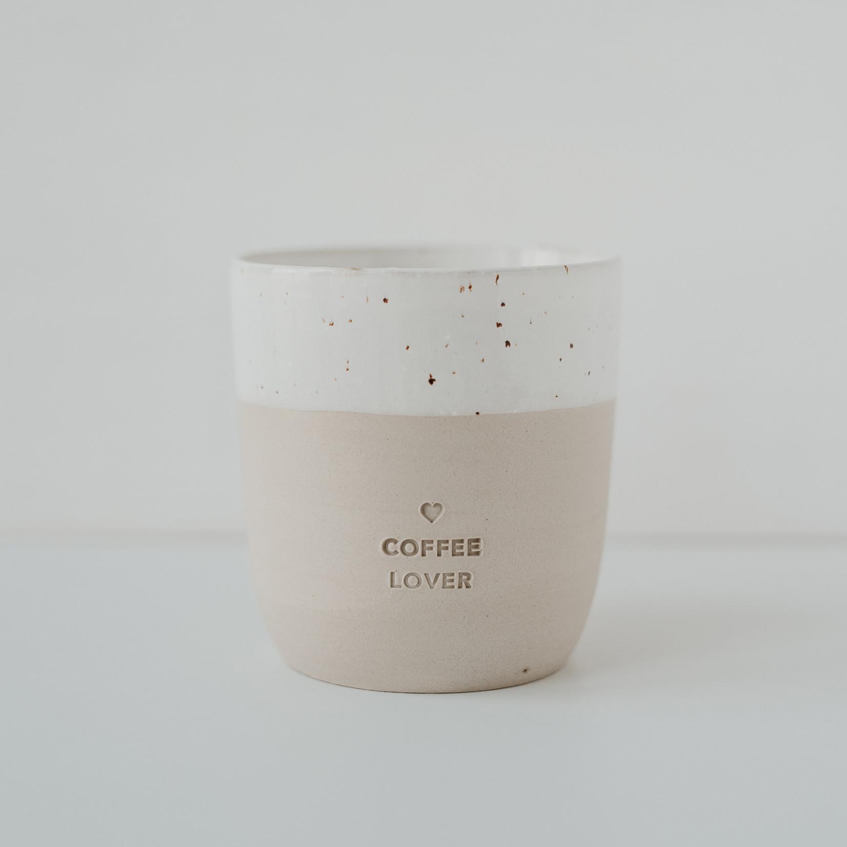 Eulenschnitt Becher Coffee Lover
