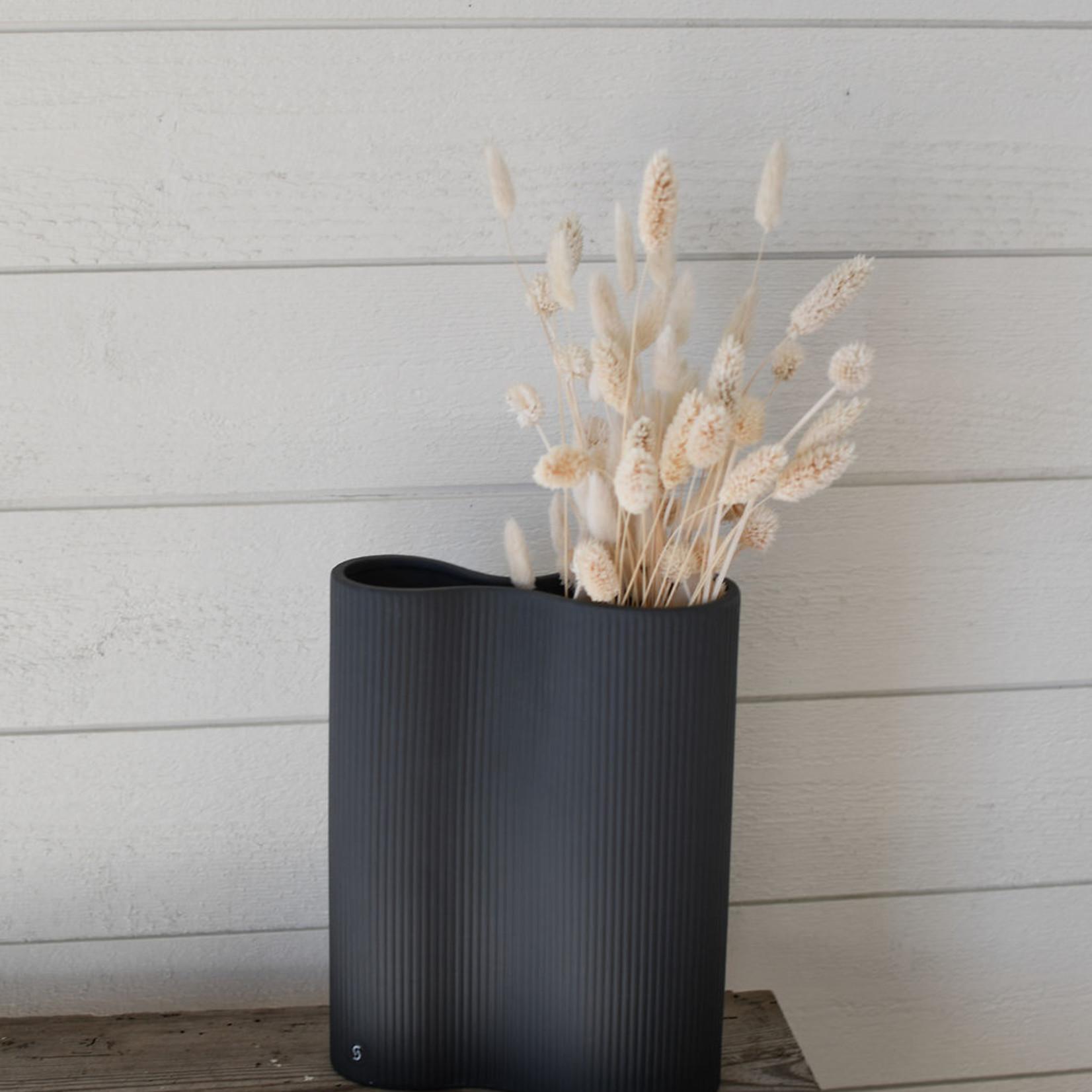 Storefactory  Vase Bunn dunkelgrau