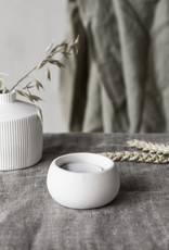 Storefactory  Teelichthalter Hedeviken weiß