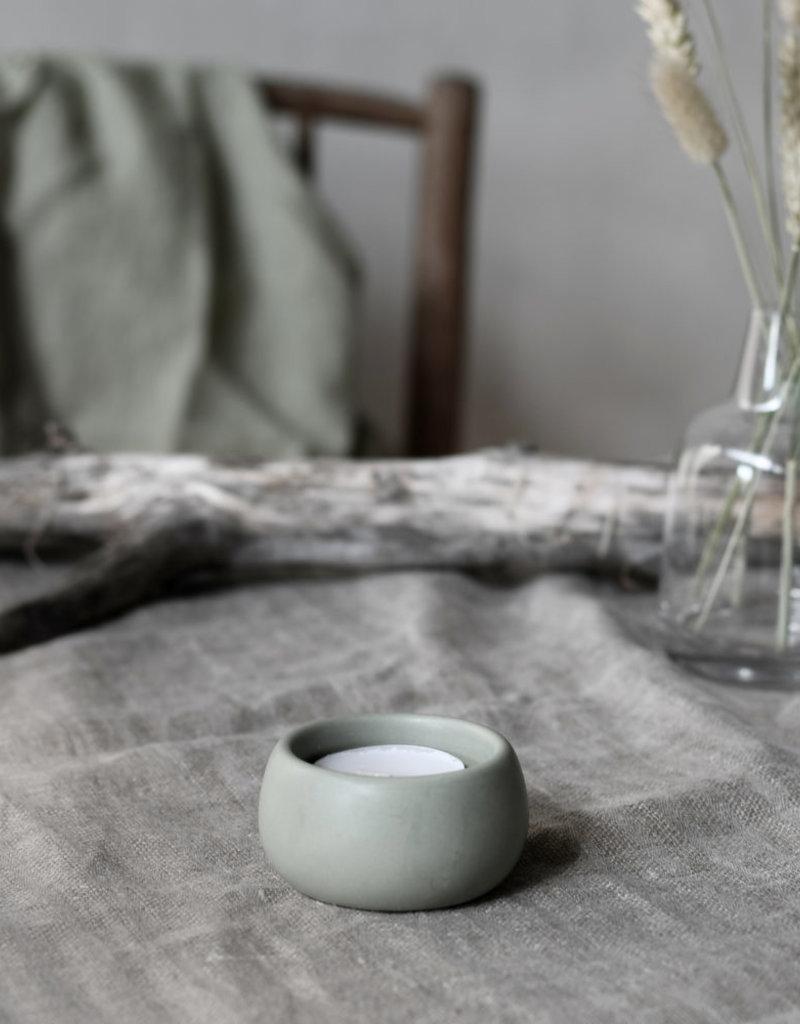 Storefactory  Teelichthalter Hedeviken grün