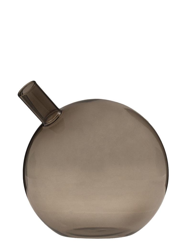 Storefactory  Vase Nyhamn braun M