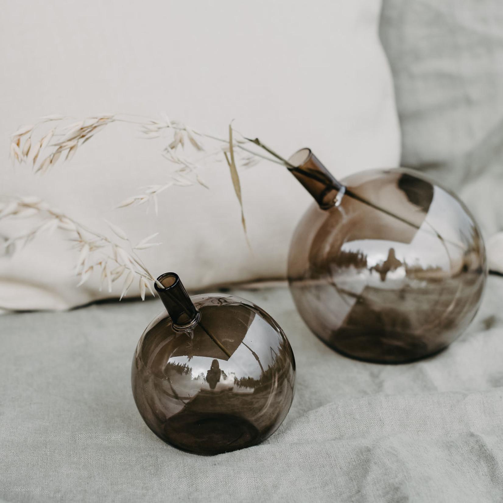 Storefactory  Vase Nyhamn braun S
