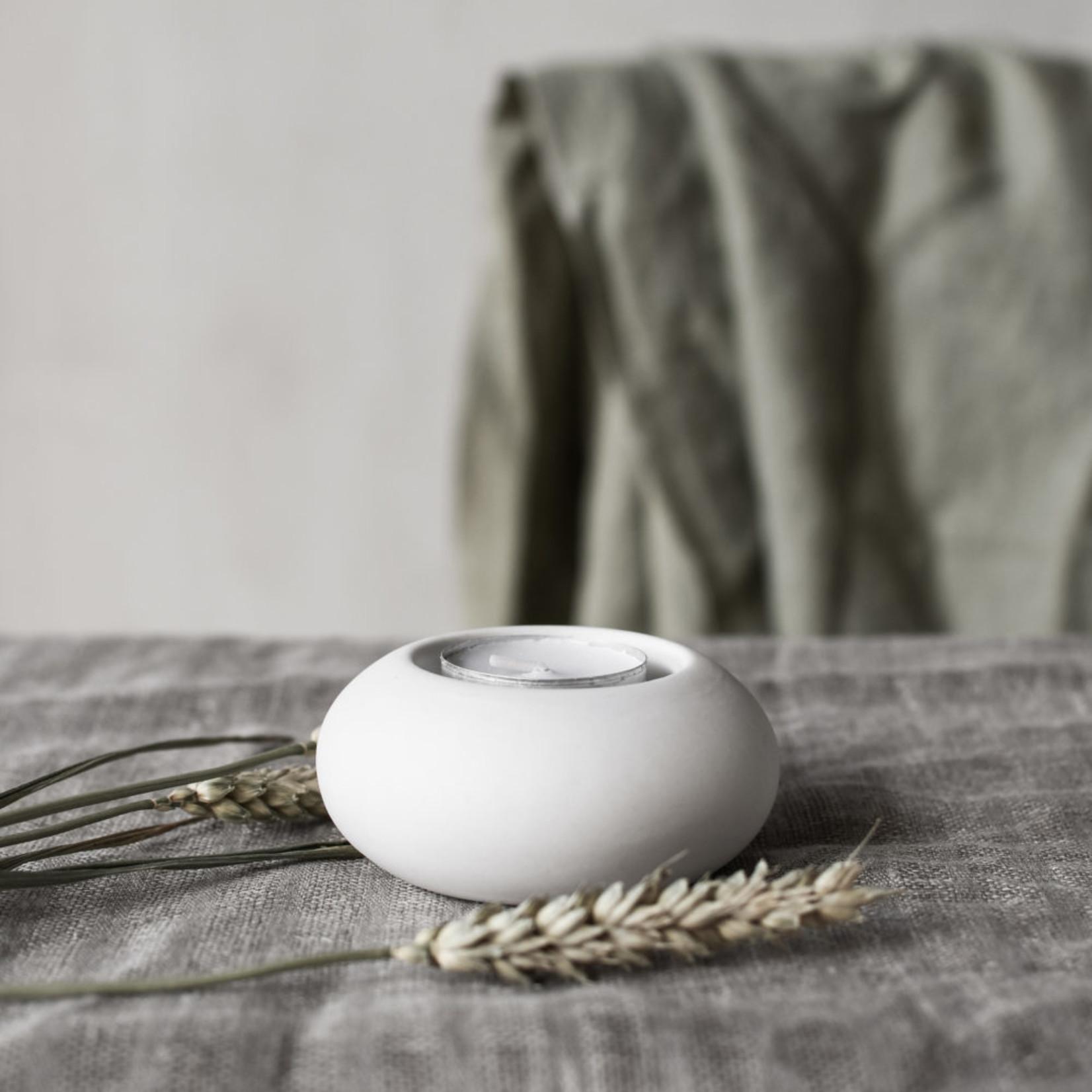 Storefactory  Teelichthalter Sandviken weiß