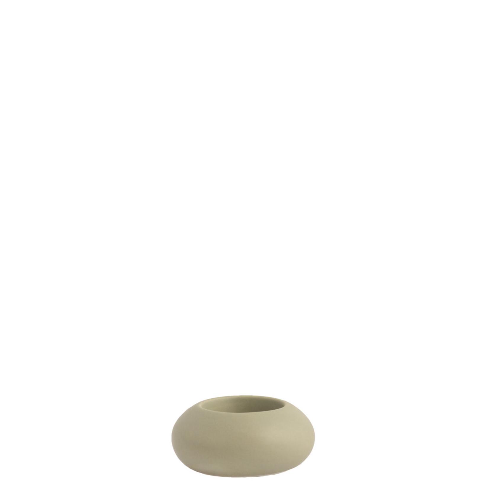 Storefactory  Teelichthalter Sandviken grün