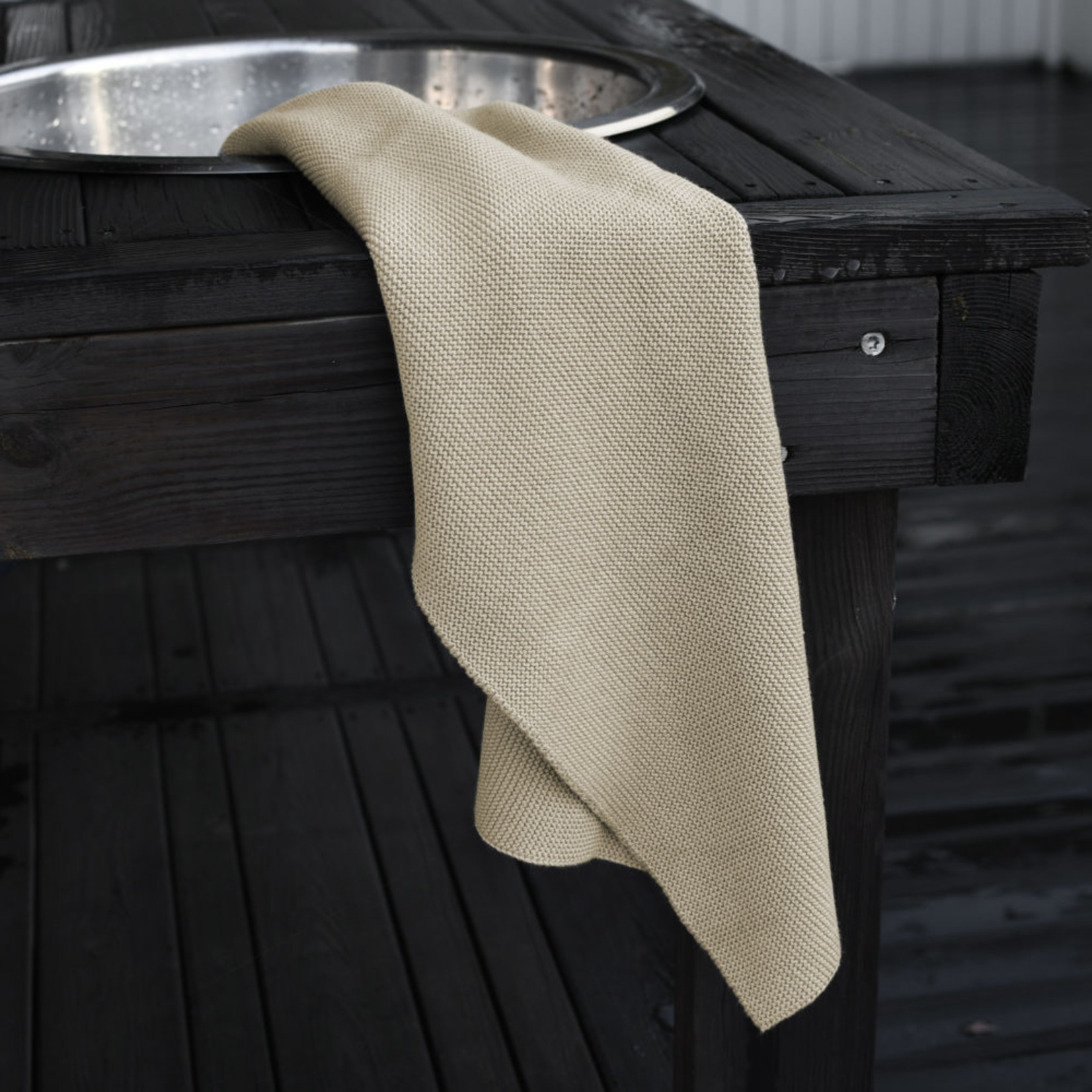 Storefactory  Handtuch Tullebo beige