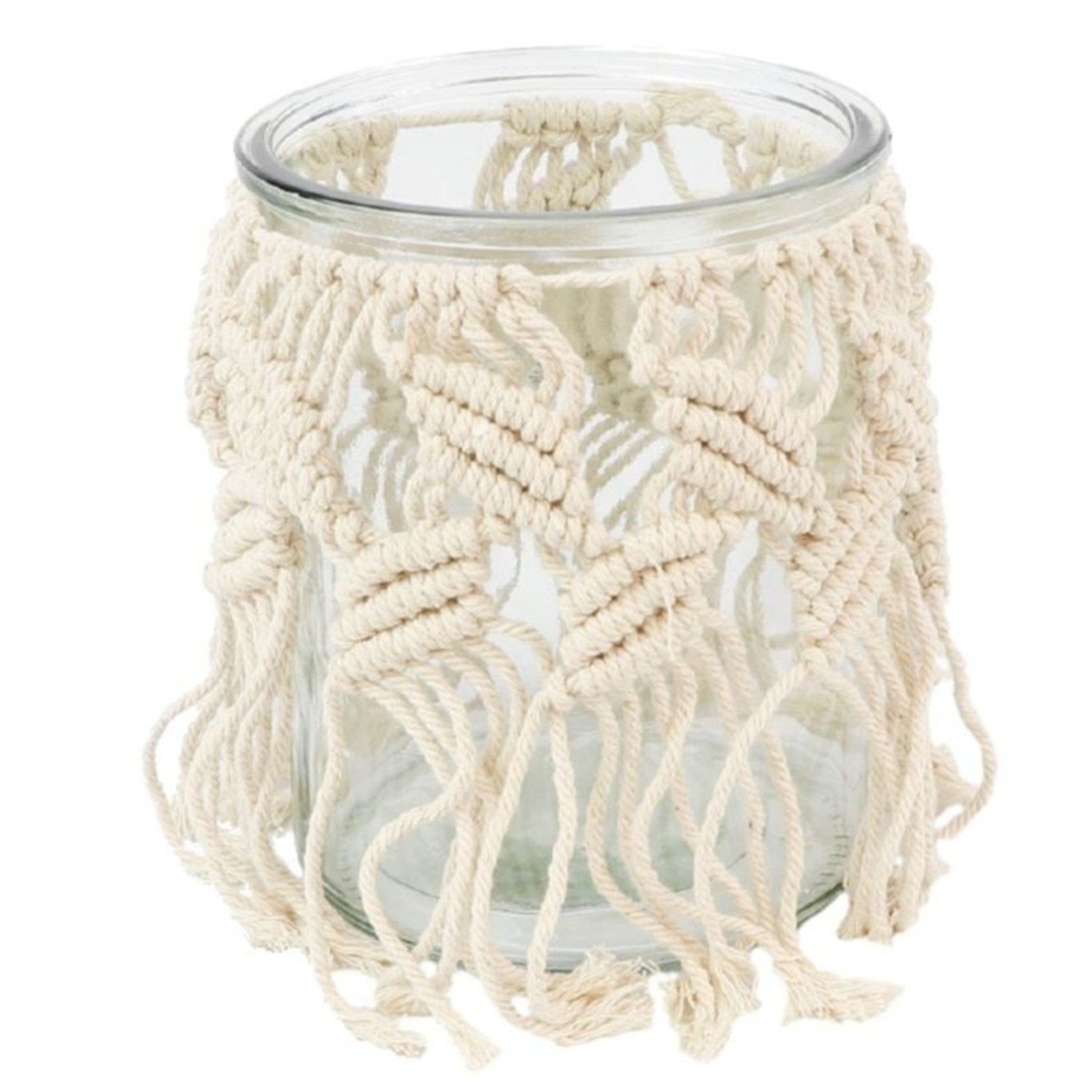 Macrame Windlicht Tighty