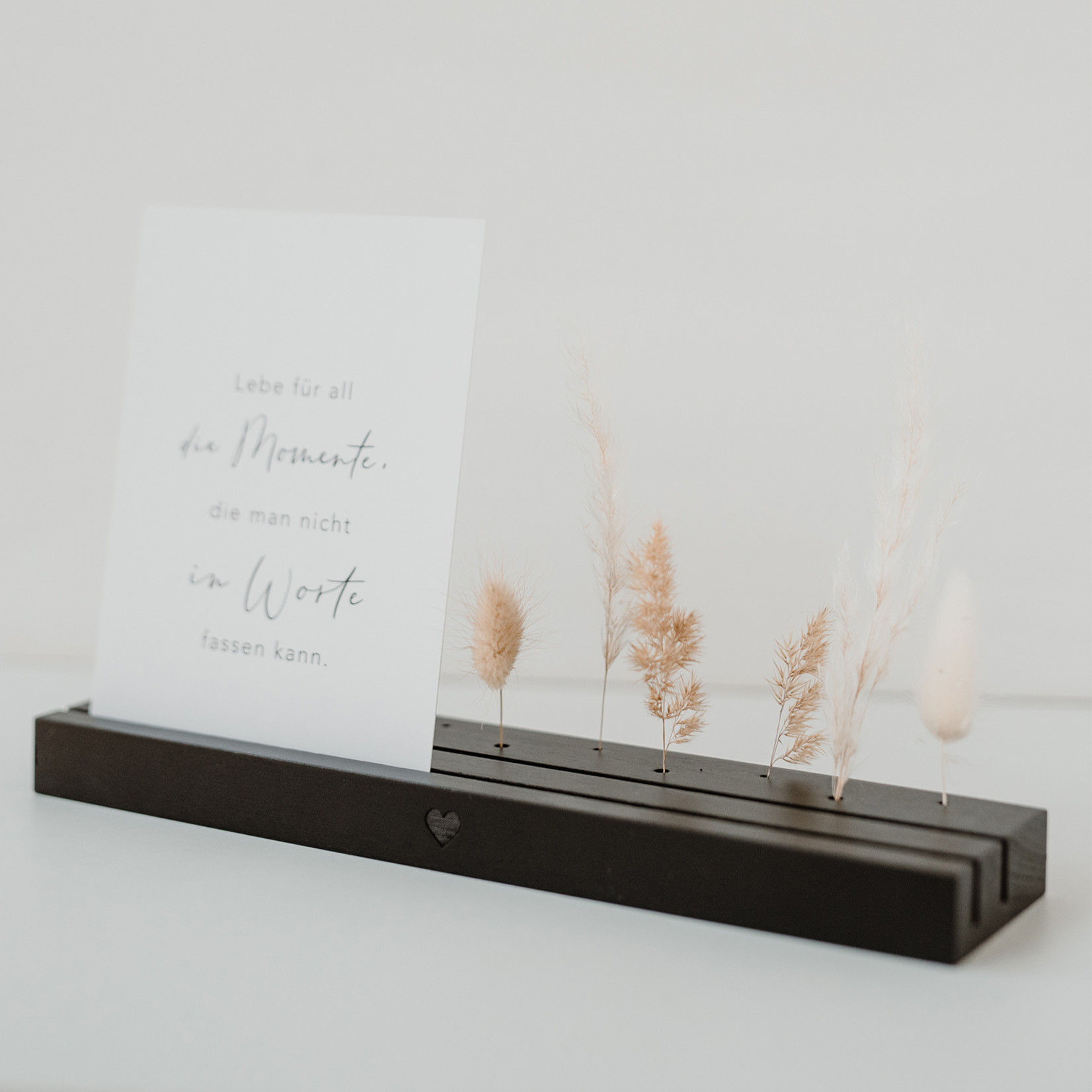 Storefactory  großer Trockenblumenständer schwarz