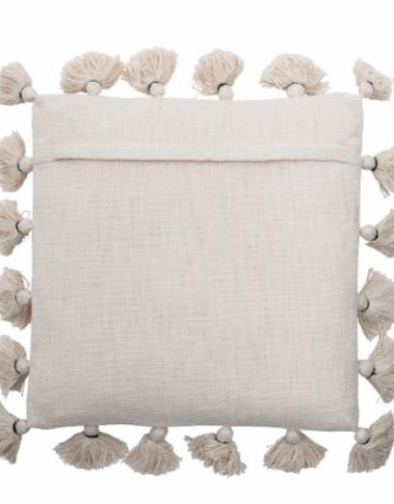 Bloomingville  Kissen Nature Baumwolle