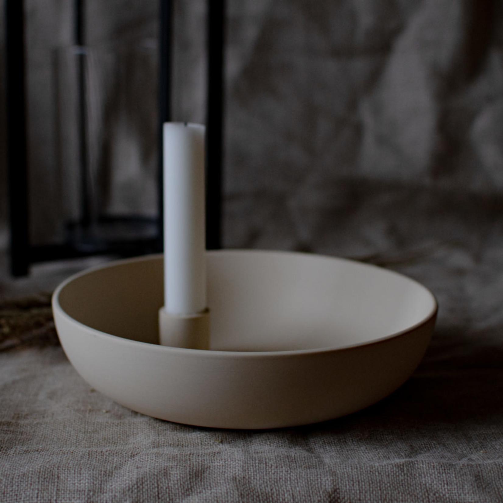 Storefactory  Kerzenständer Lidatorp Xl beige