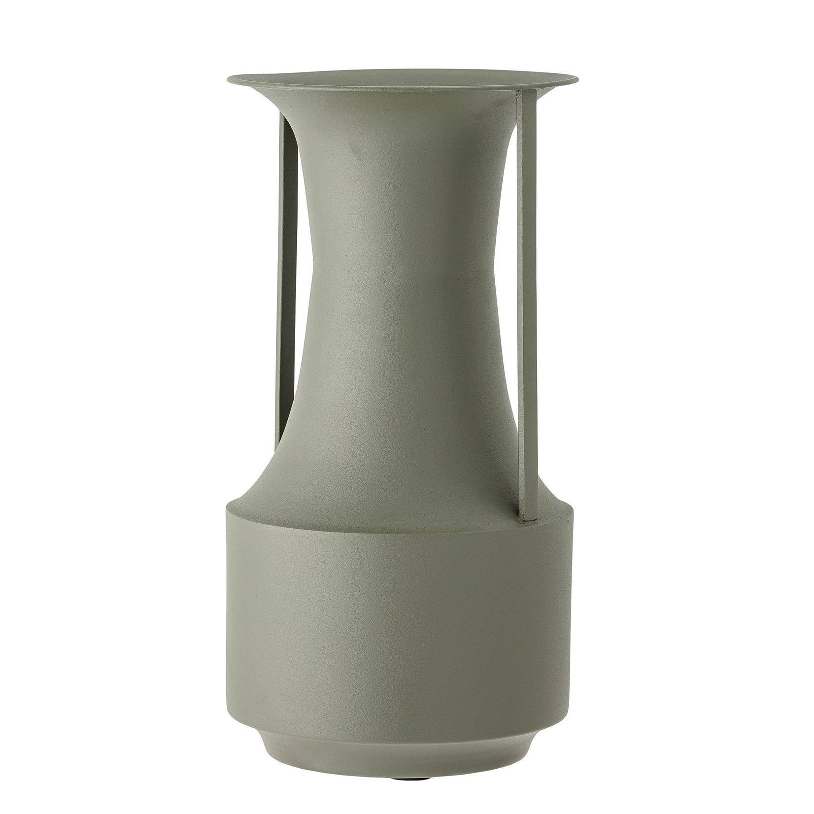 Bloomingville  Vase Green Metal