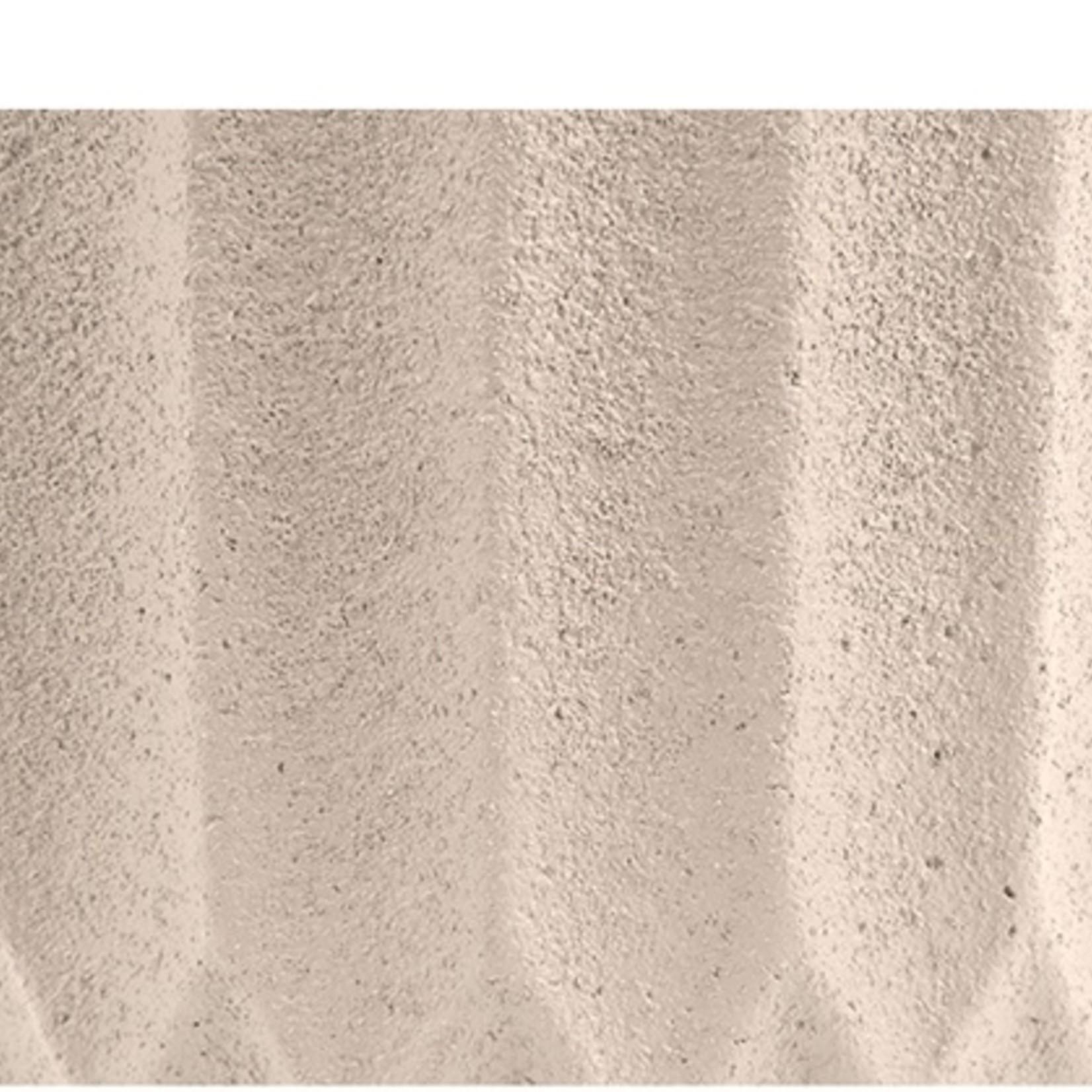 Presenttime Plant Pot Stripes Cement Large