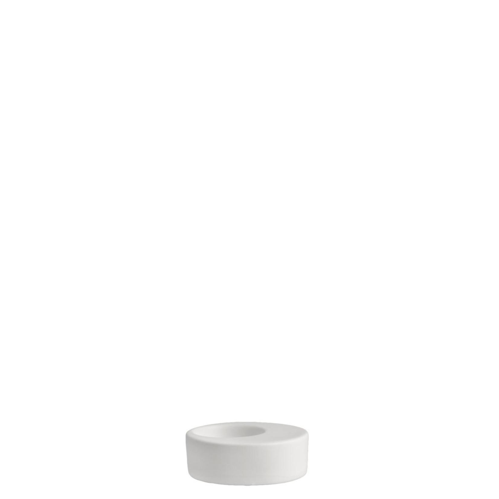 Storefactory  Teelichthalter Evedal weiß