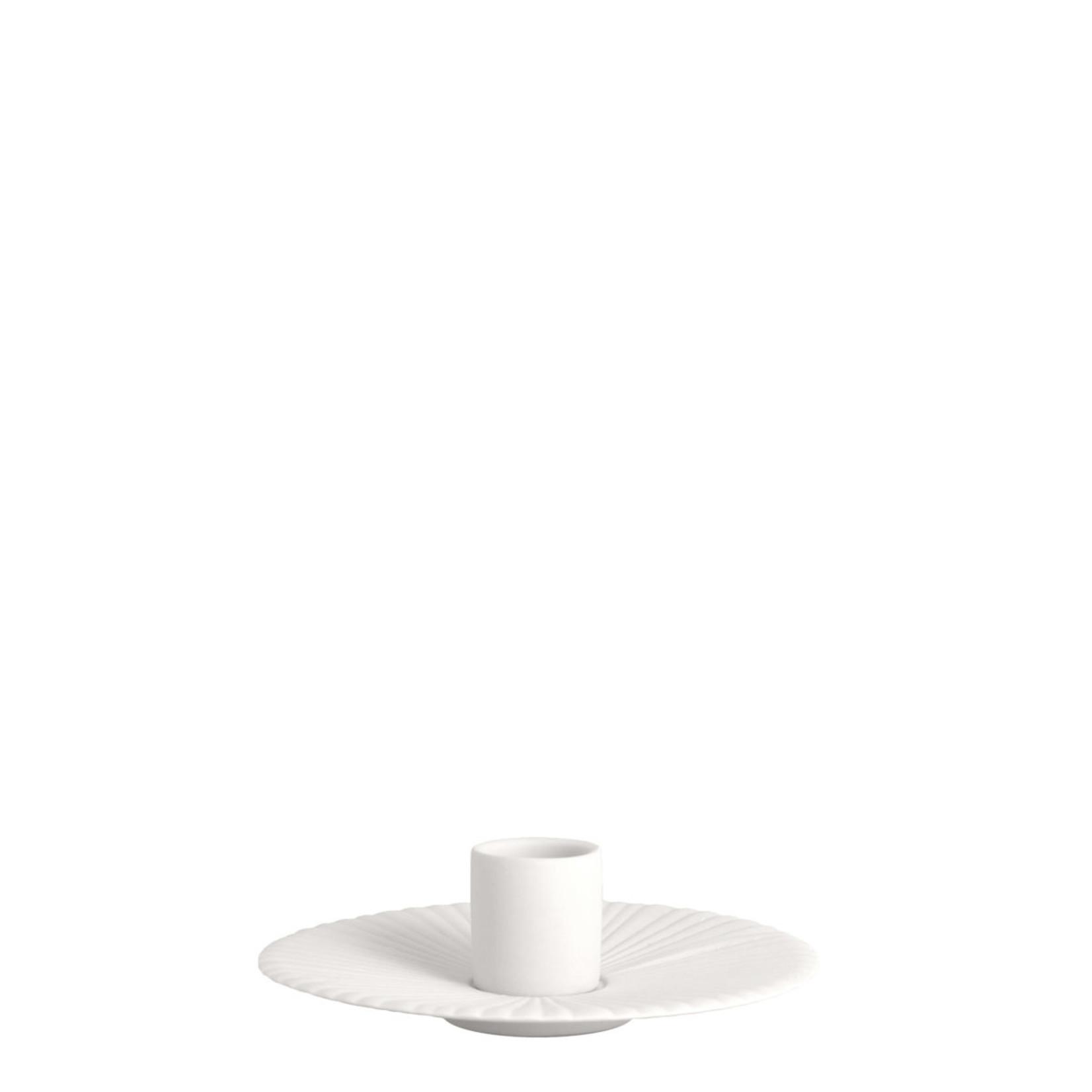 Storefactory  Kerzenständer Holmby Weiß klein