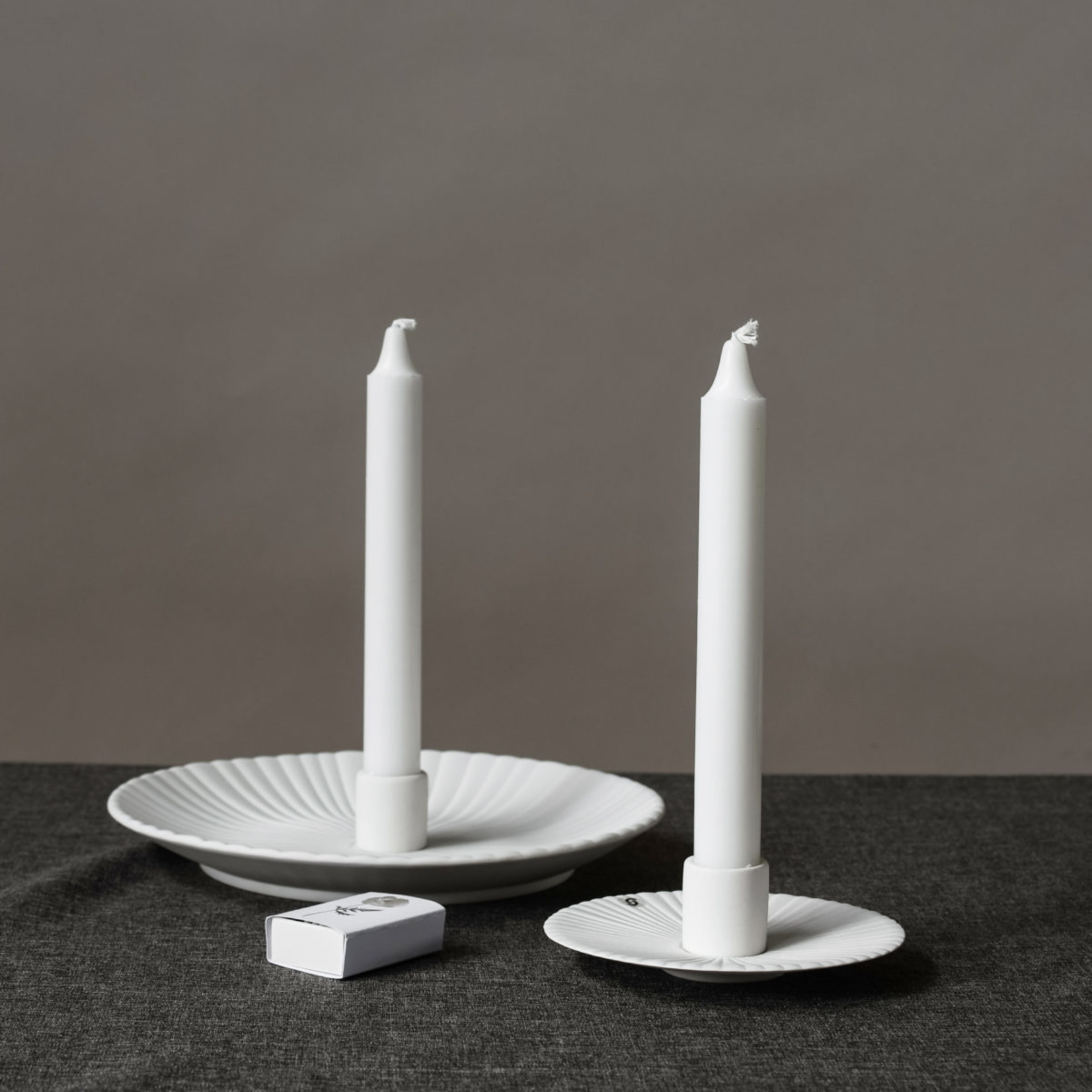 Storefactory  Kerzenständer Holmby weiß