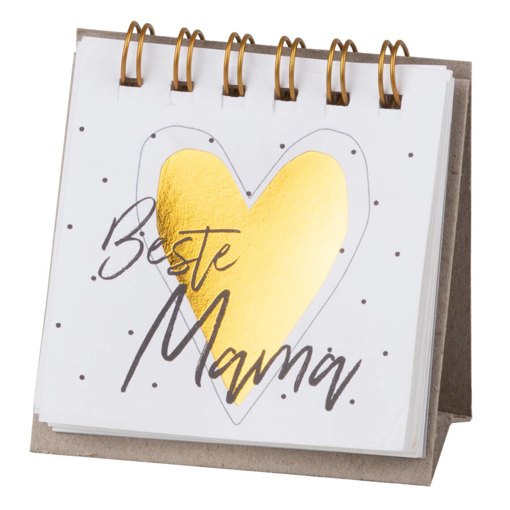 Räder Design kleine Botschaft Beste Mama