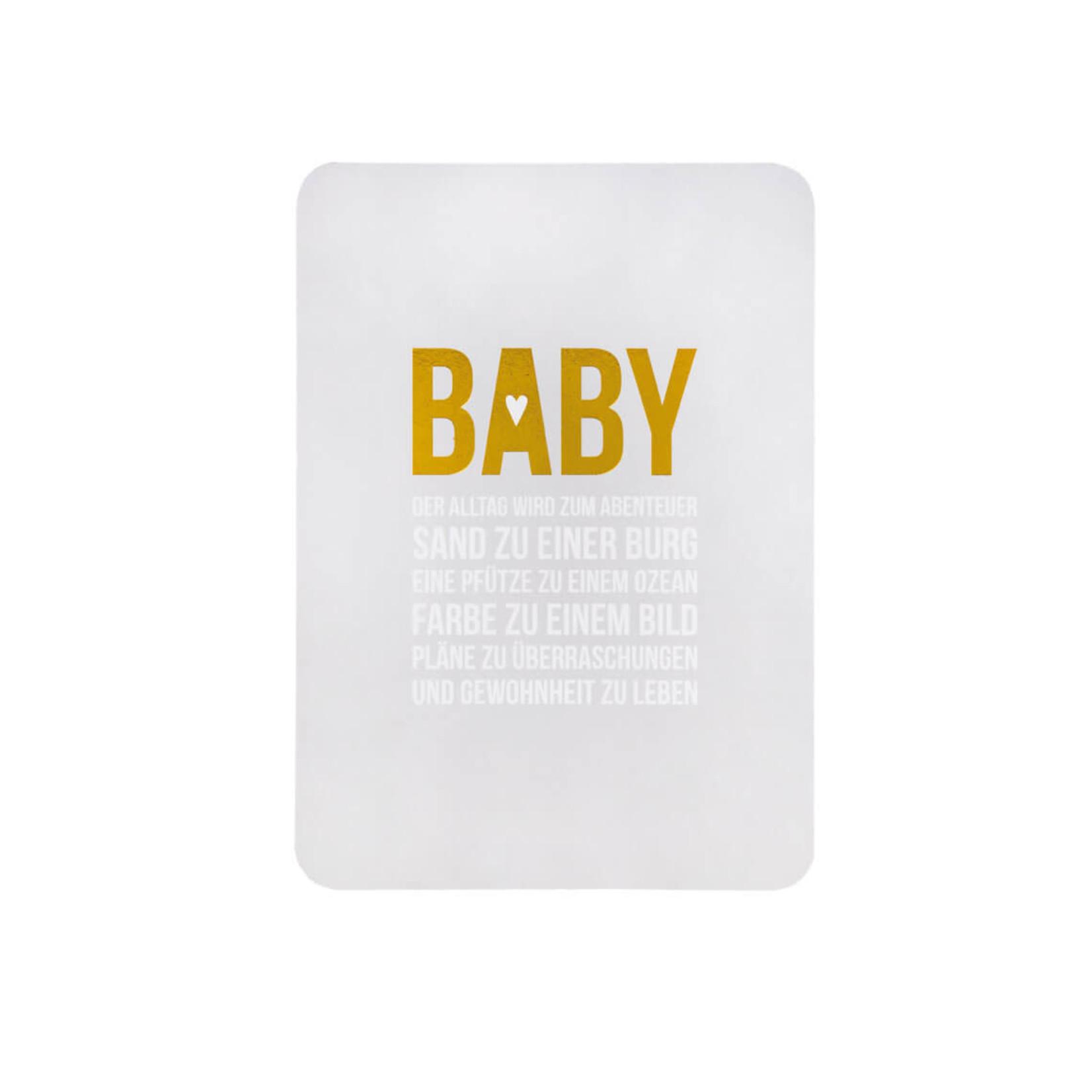 Räder Design Babykarte Der Alltag wird zum Abenteuer