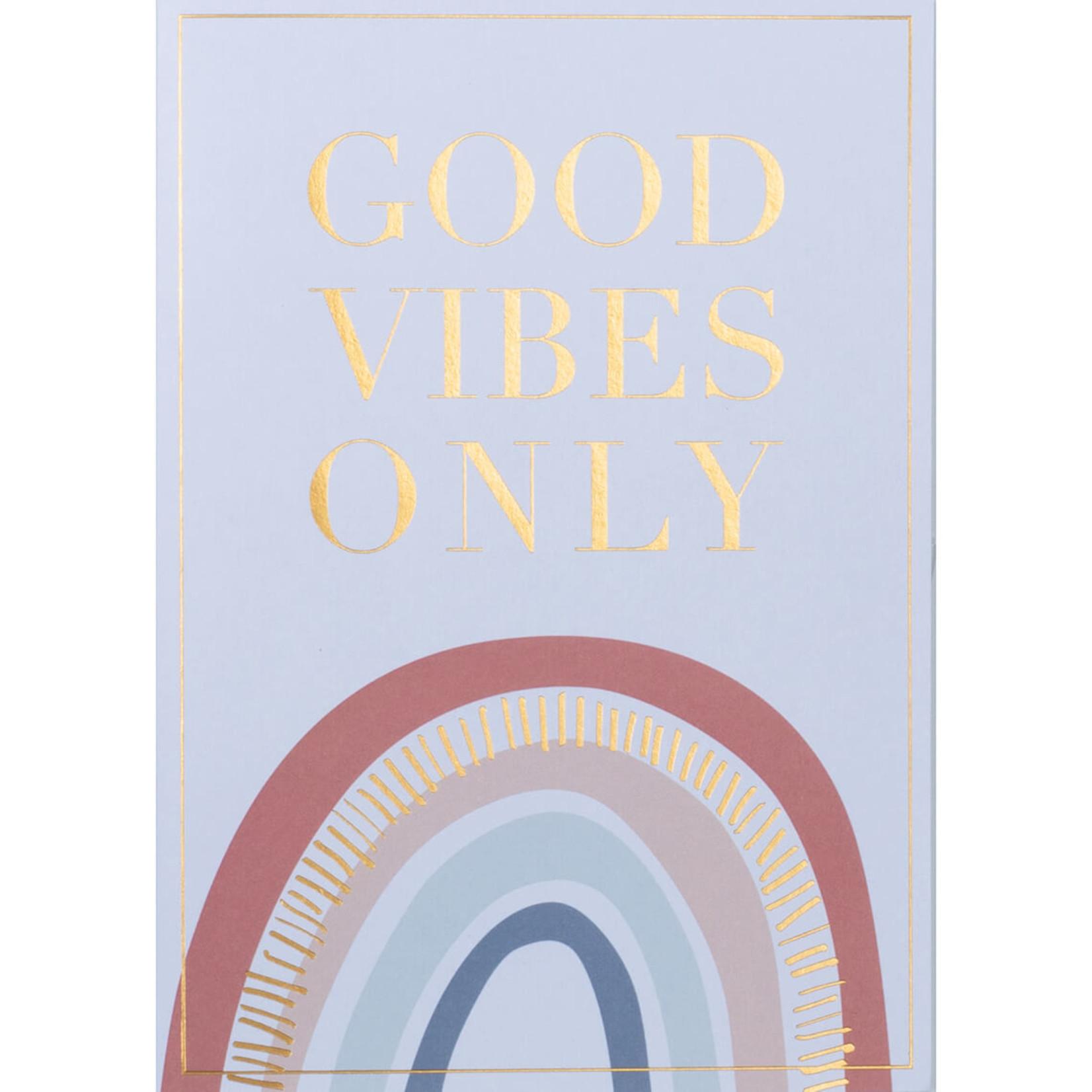 Räder Design Regenbogenkarte Good Vibes only