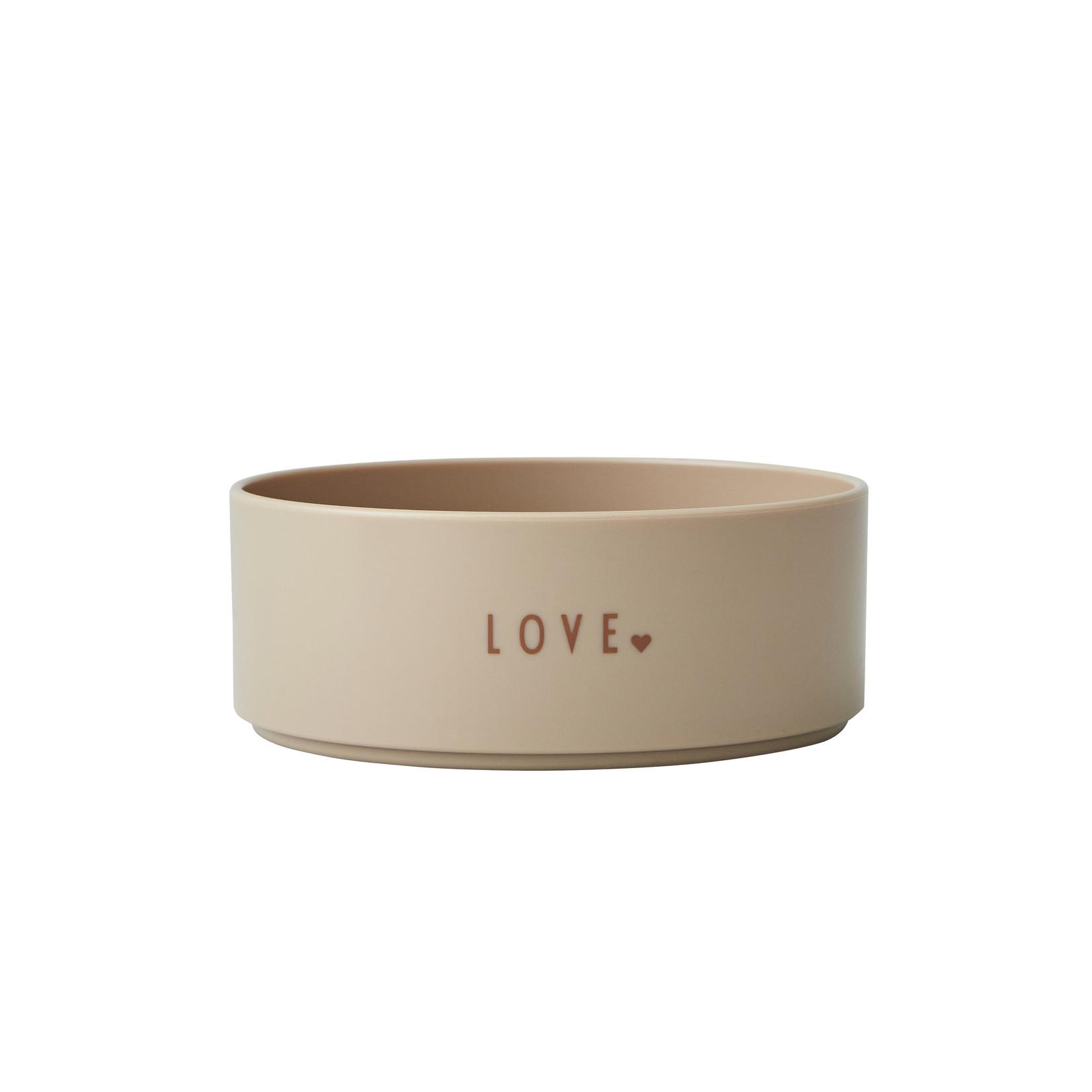 Design Letters Mini favourite bowl beige