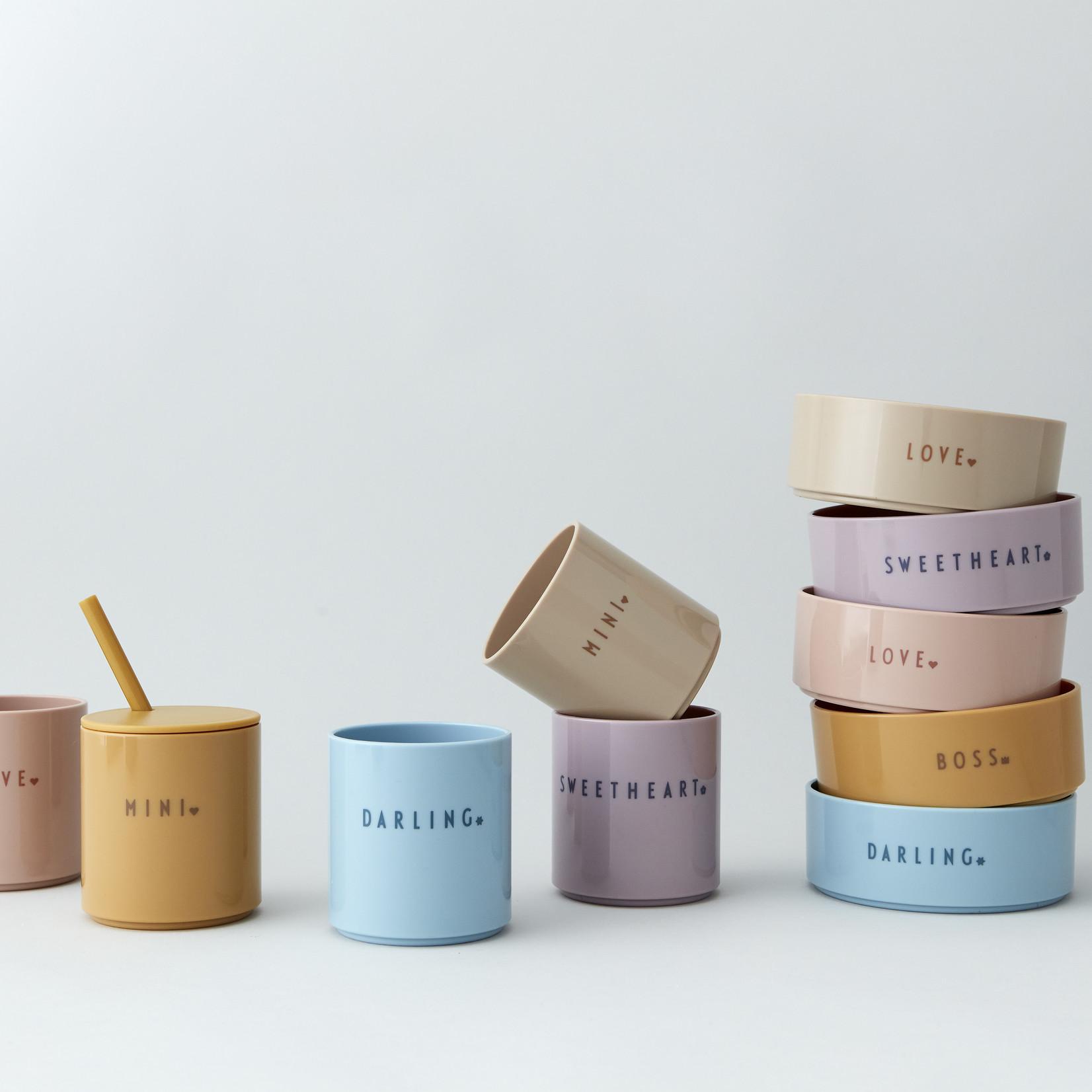 Design Letters Mini favourite bowl nude