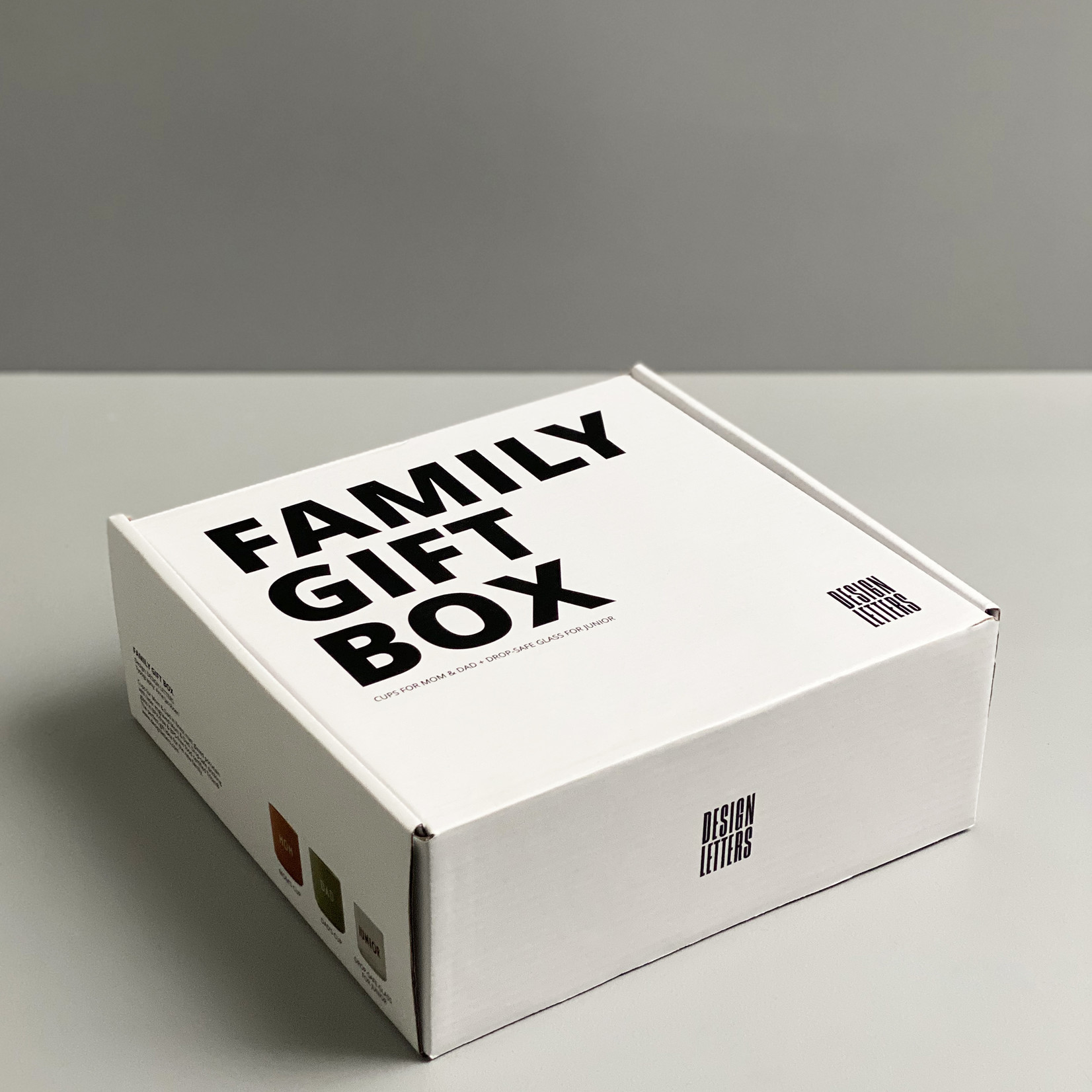 Design Letters Family Giftbox
