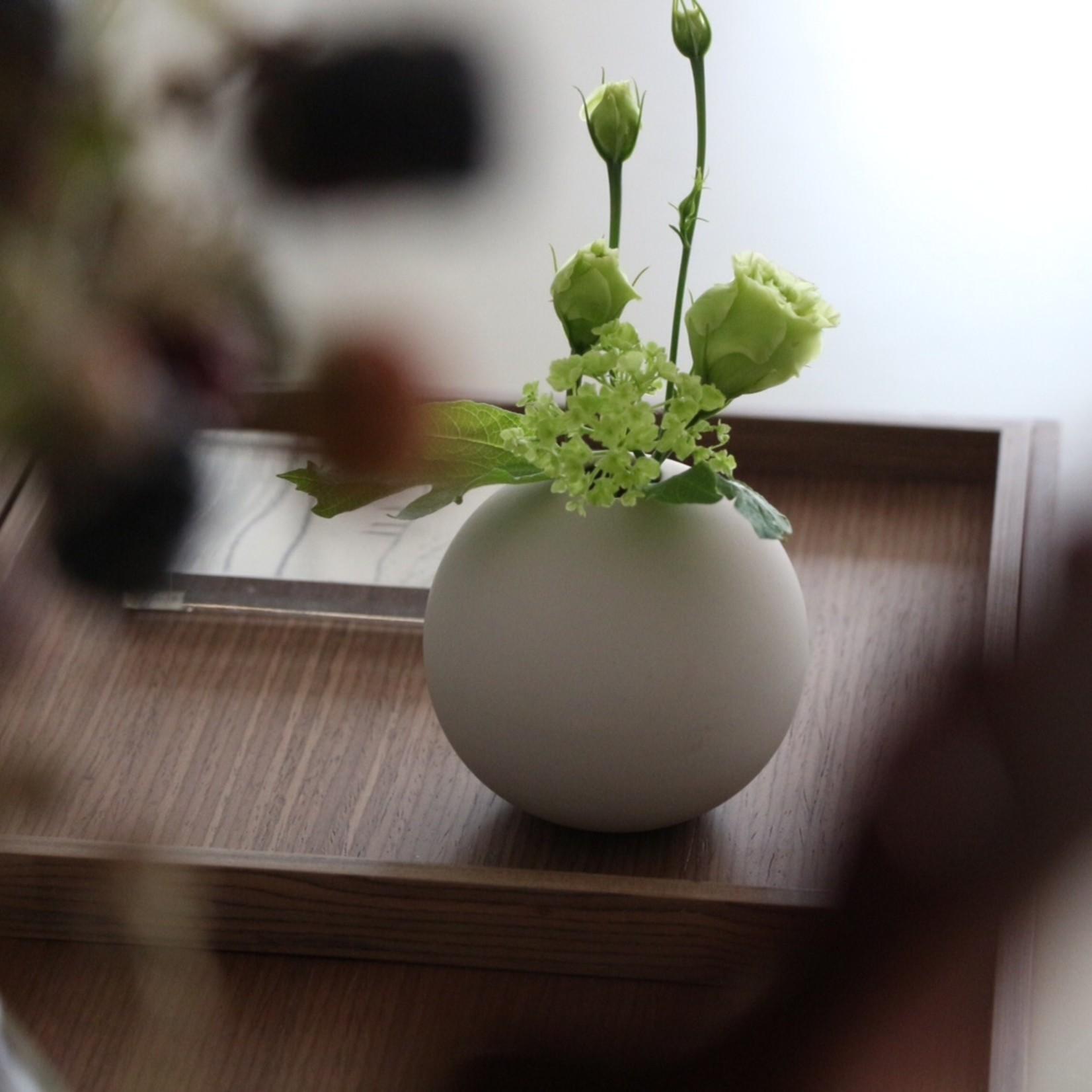 Cooee Design Ball Vase 10cm Sand