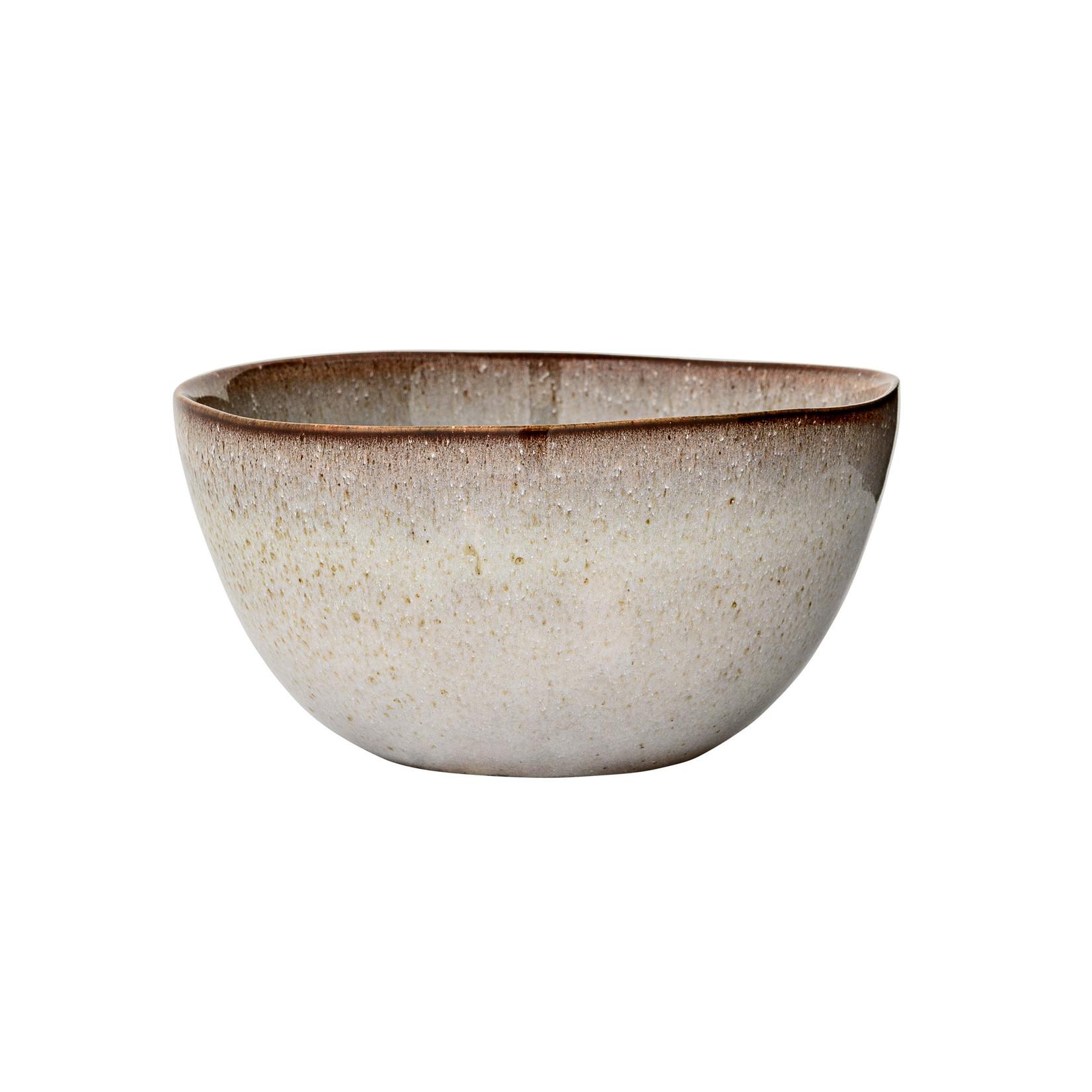 Bloomingville  Sandrine Bowl, Grey, Stoneware