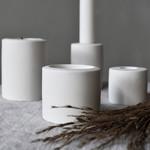 Storefactory  Kerzenständer Lekvall beige S
