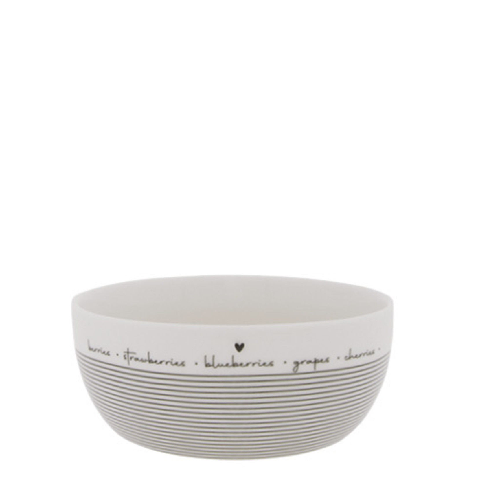 Bastion Collections Fruit Bowl Large Blackberry