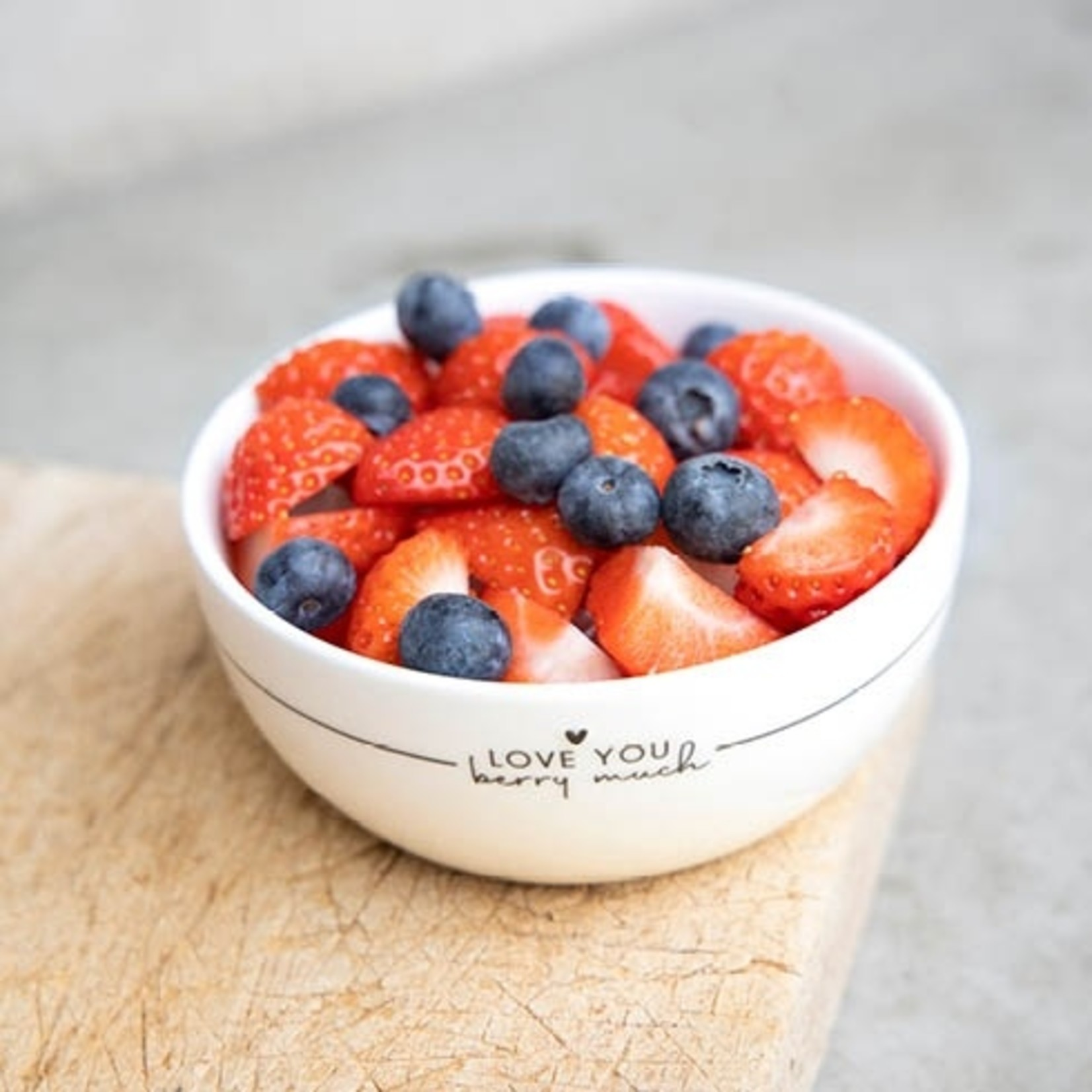 Bastion Collections Fruit Bowl Love you Berry Much