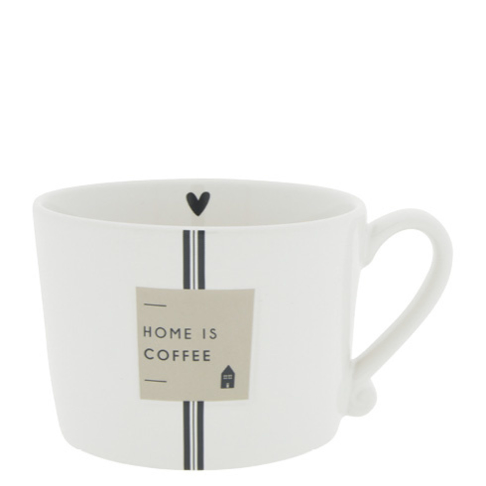 Bastion Collections Kaffeebecher Home is Coffee