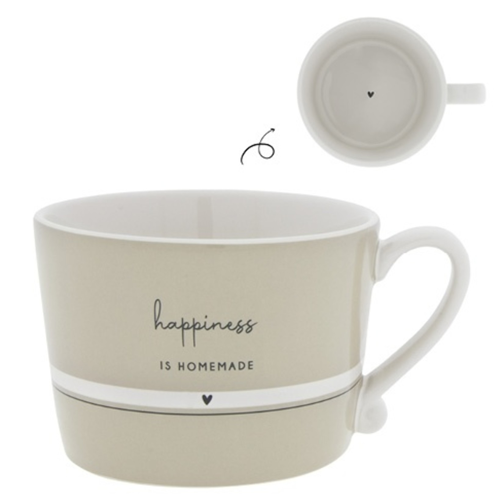 Bastion Collections Kaffeebecher Happiness is Homemade