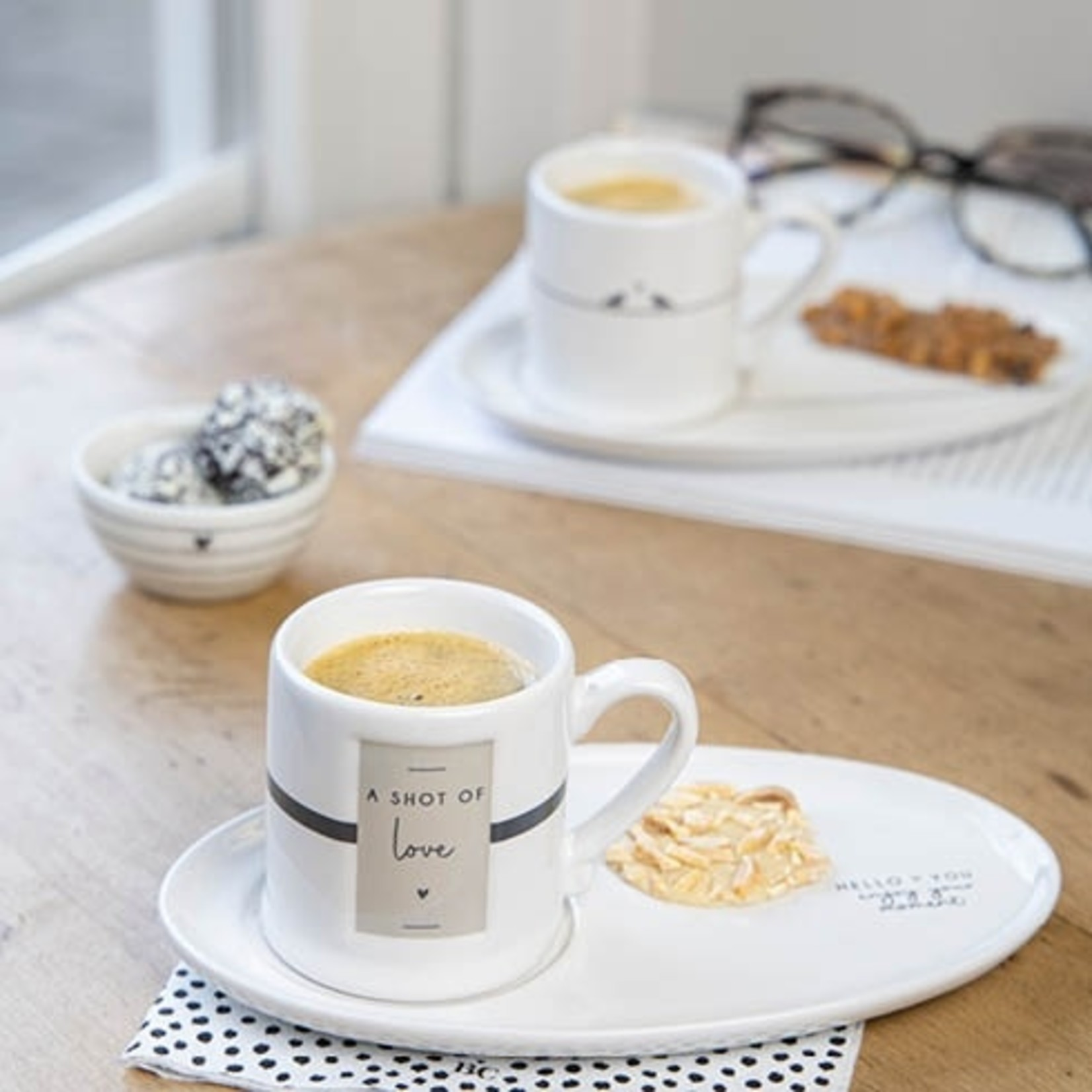 Bastion Collections Espresso Cup Shot of Love