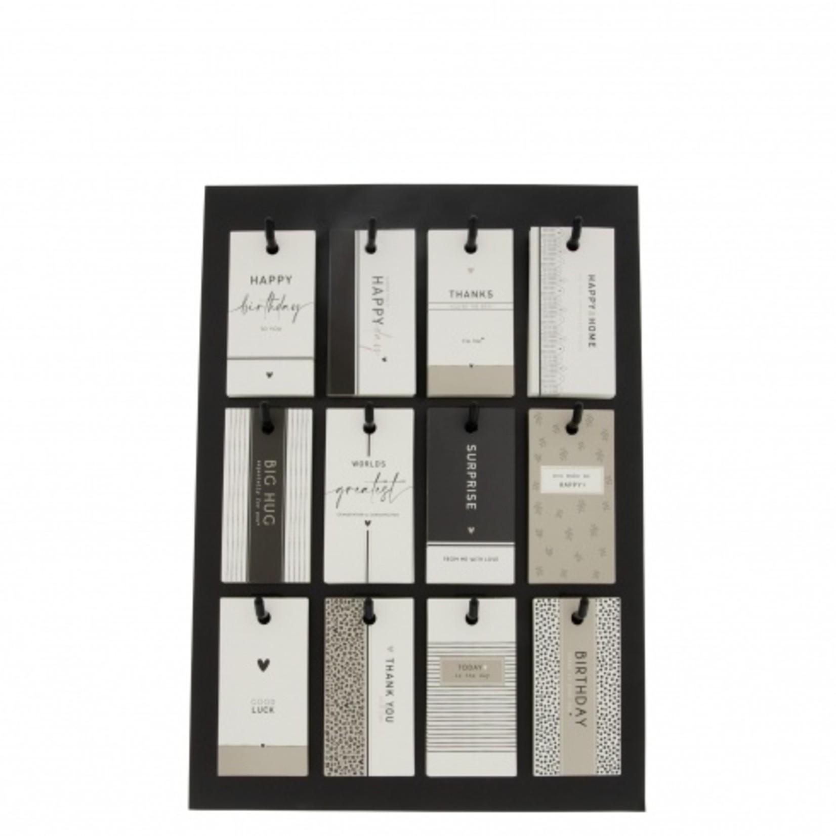 Bastion Collections Geschenkanhänger 12er Set