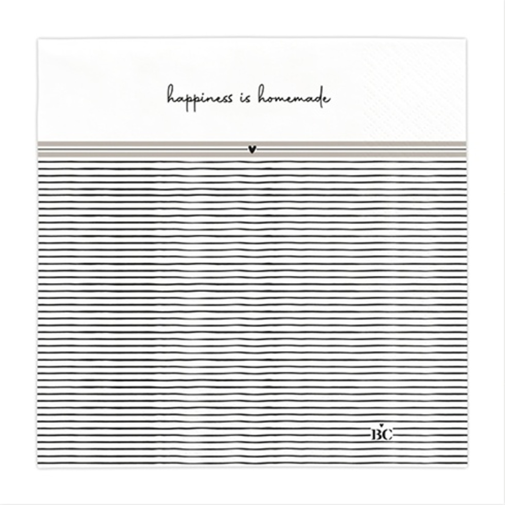 Bastion Collections Serviette Happiness is Home