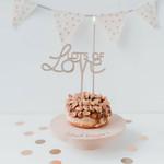 Eulenschnitt Mini Kuchenständer Wünsch dir Was