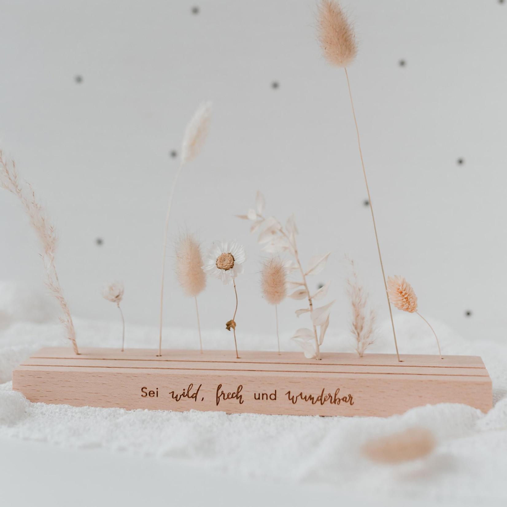 Eulenschnitt Großer Karten und Blumenständer wild und frech