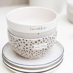 Bastion Collections Bowl Titane/Confetti Smile Today