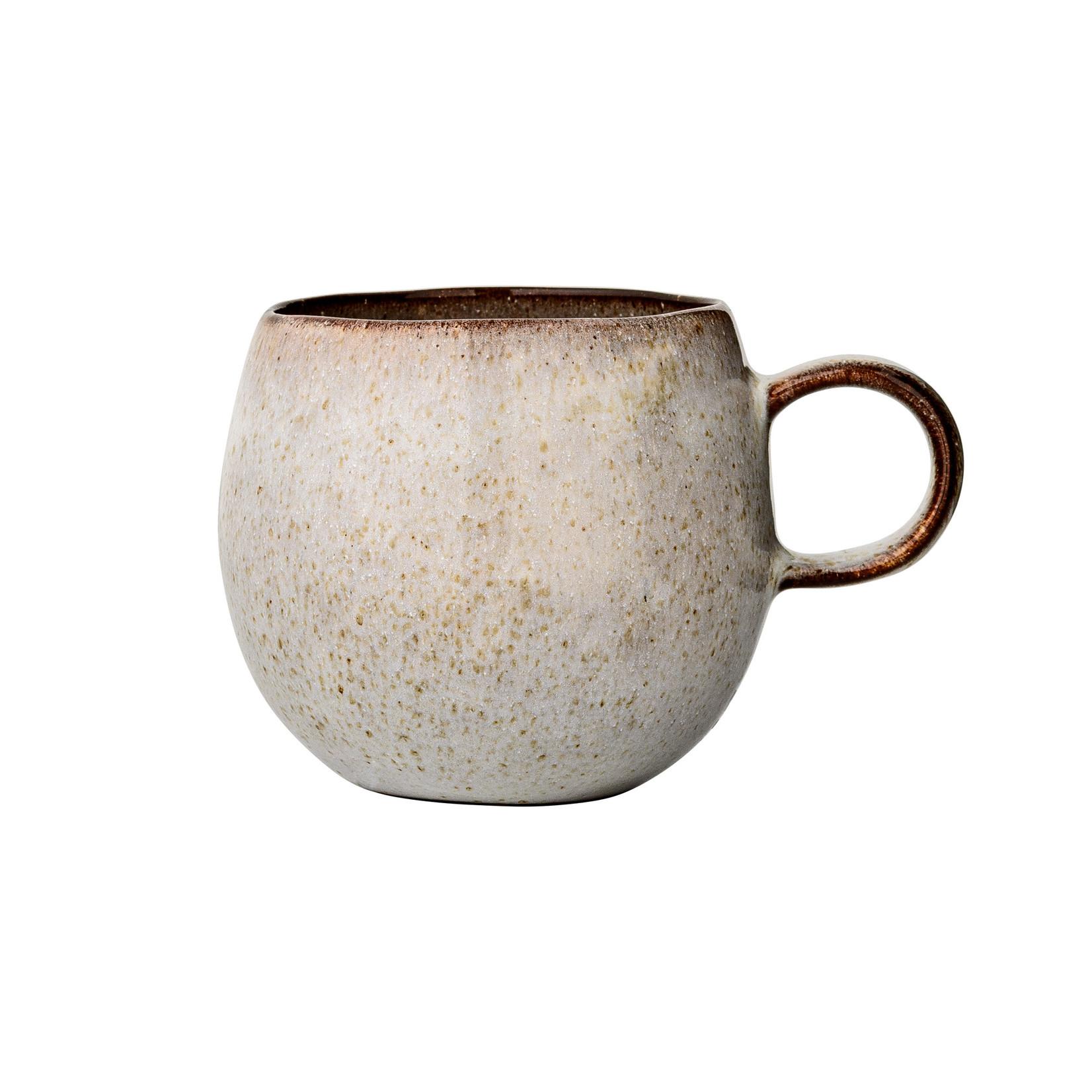 Bloomingville  Sandrine Mug, Grey, Stoneware