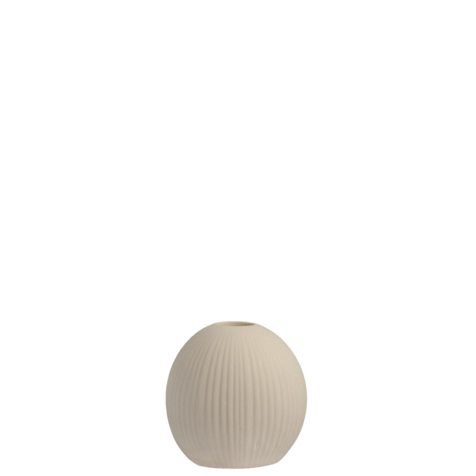Storefactory  Kerzenständer Vena beige